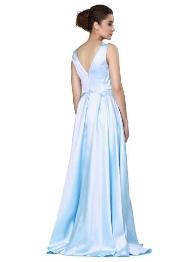 Pierre Cardin Uzun Abiye Elbise Renkli